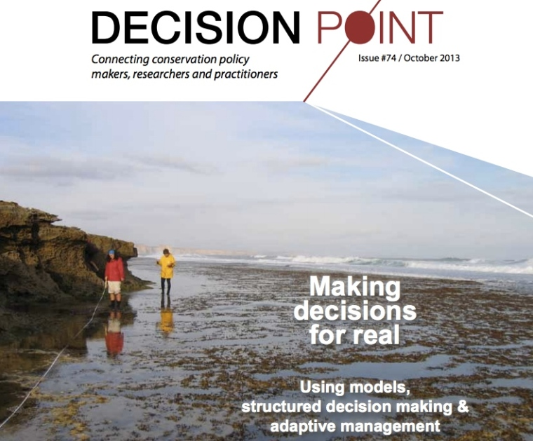 Read about how Structured Decision Making is helping Parks Victoria work though current management issues of it's Protected Areas