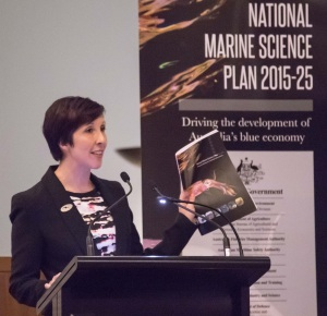 My opportunity to represent the early career researcher community at the launch of the National Marine Science Plan