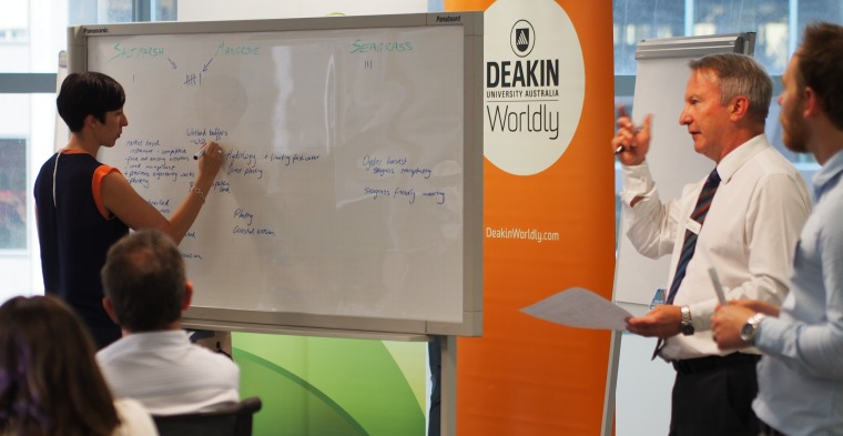 Blue Carbon Solutions Workshop, Deakin University, April 2015
